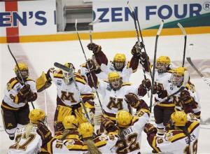 Unbeaten Minnesota to face Boston U for title