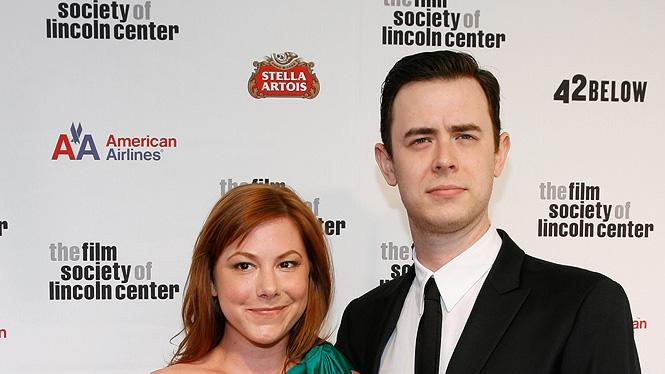 36th Film Society Of Lincoln Center's Gala Tribute 2009 Samantha Bryant Colin Hanks