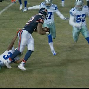 Chicago Bears running back Matt Forte 4-yard touchdown