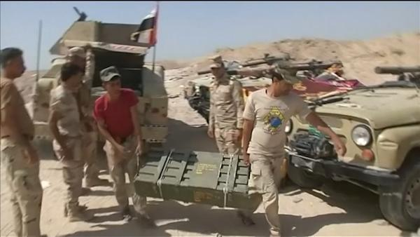 Iraqi army readies for fierce fight with IS in Falluja | Watch the video - Yahoo Finance