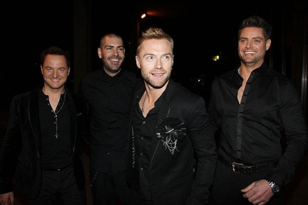 Boyzone 2012: Mikey Graham, Shane Lynch, Ronan Keating and Keith Duffy (von links) (Bild: Getty Images)