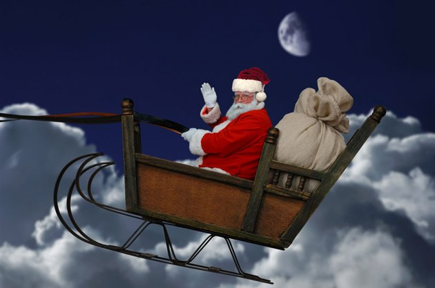 Father Christmas has been pushed to the brink of bankruptcy by rising commodity prices (Image: Fotolia)