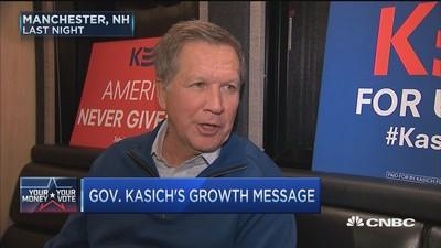 John Kasich: I'm open to even lower tax rate