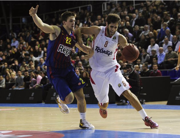 BASKET-EURL-REGAL BARCELONA-OLYMPIACOS