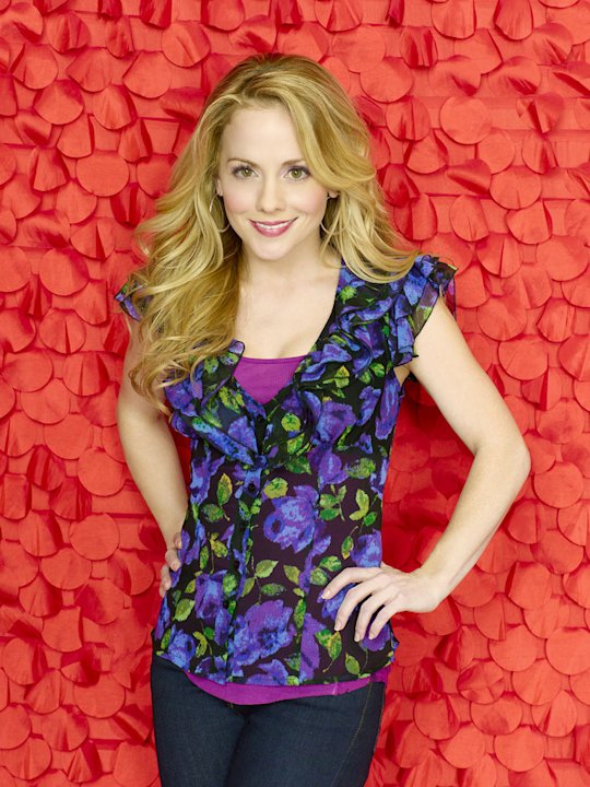Kelly Stables stars as Lisa Thomas in &quot;Romantically Challenged.&quot; 