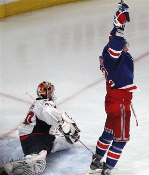 Rangers-Capitals Preview