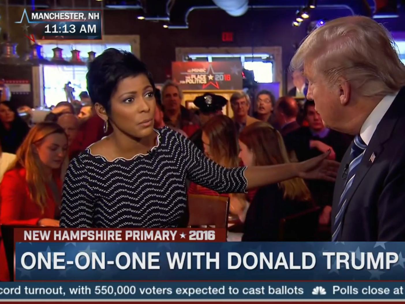 'Who is the real Donald Trump?': MSNBC anchor grills Trump on vulgar term he used at rally