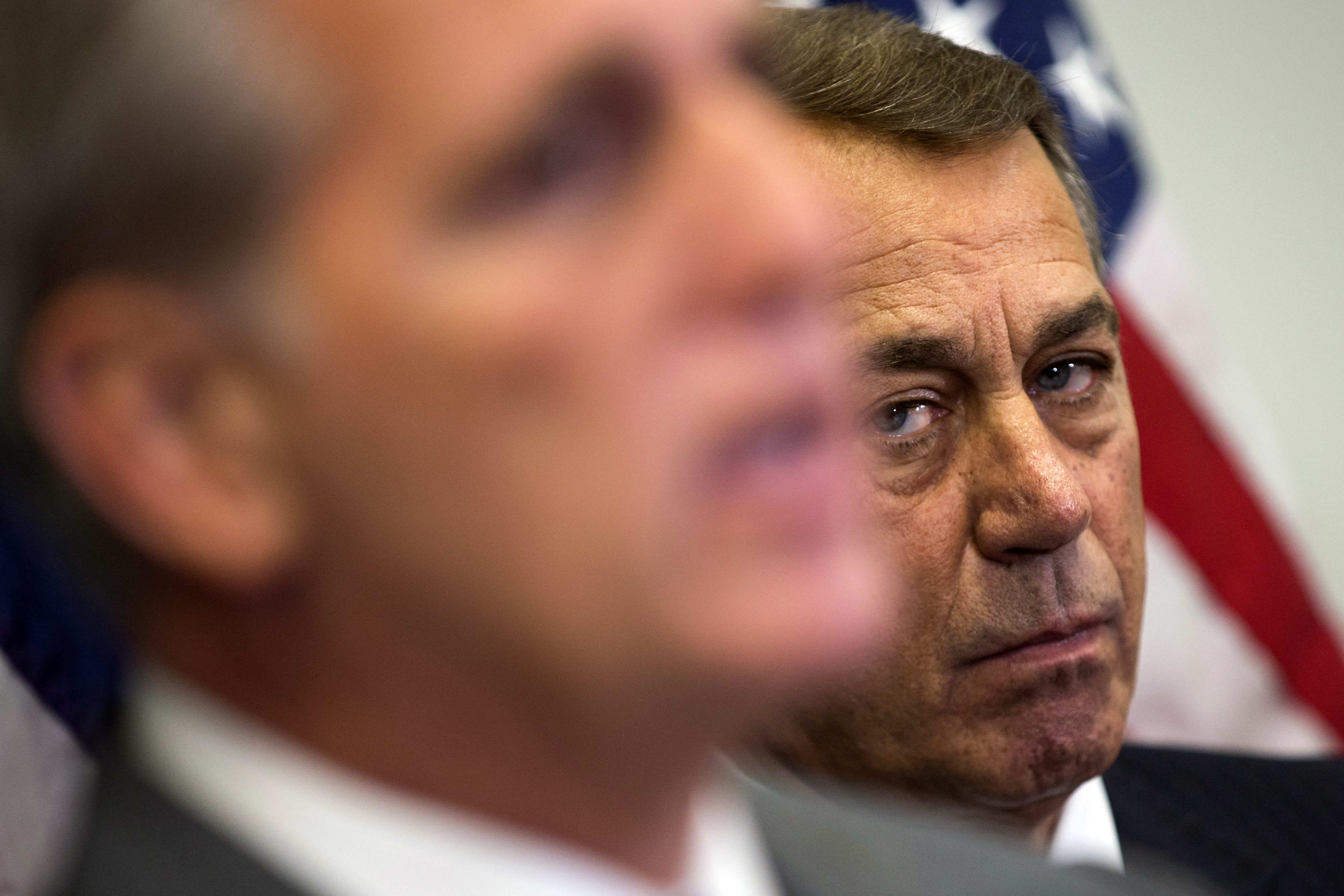 John Boehner's here to stay, for now, with nothing to lose