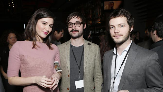 Mary Elizabeth Winstead, guest and Ben Richardson attend the Film Independent Spirit Awards Luncheon at BOA Steakhouse on Saturday, Jan. 12, 2013, in West Hollywood, Calif. (Photo by Todd Williamson/Invision/AP)