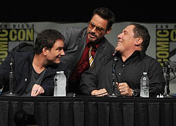 'Iron Man 3' At Comic-Con: Robert Downey Jr. Boogies, Shane Black Slams 'Spider-Man 3'