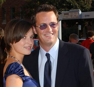 Matthew Perry and Rachel Dunn 2004 Emmy Creative Arts Awards Arrivals - 9/12/2004