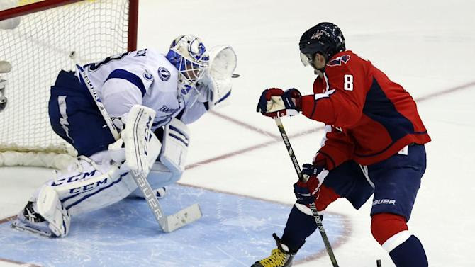 Ovechkin says Capitals are in 'middle of nowhere'