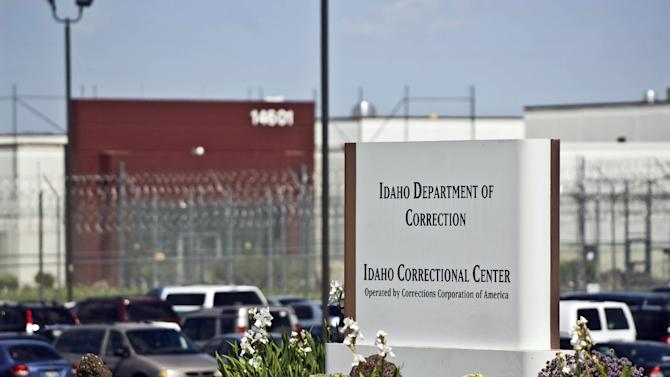 "FILE - This June 15, 2010, file photo, shows the Idaho Correctional Center south of Boise, Idaho. The FBI has launched a criminal investigation into private prison company Corrections Corporation of America, which ran what Idaho inmates called ""Gladiator School"" because of a violent reputation they say understaffing helped create. The Nashville, Tenn.-based CCA has operated Idaho's largest prison for more than a decade, but last year, CCA officials acknowledged it had understaffed the Idaho Correctional Center by thousands of hours in violation of the state contract. (AP Photo/Charlie Litchfield, File)"