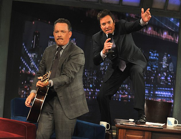 Tom Hanks, Jimmy Fallon