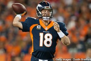 Peyton Slices, Dices Raiders