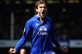 Jagielka backs Jelavic to re-find scoring touch for Everton