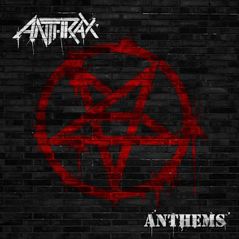 This CD cover image released by Megaforce shows &quot;Anthems,&quot; by Anthrax. (AP Photo/Megaforce)