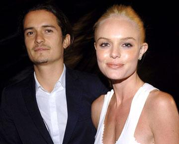 Orlando Bloom and Kate Bosworth at the Westwood premiere of Warner Bros. Pictures' Superman Returns