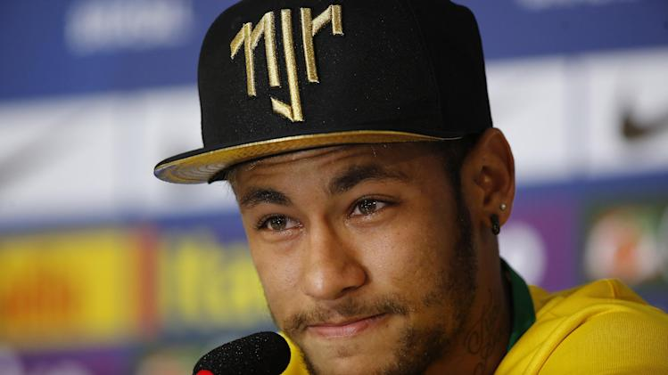 Neymar thankful he's not in a wheelchair now
