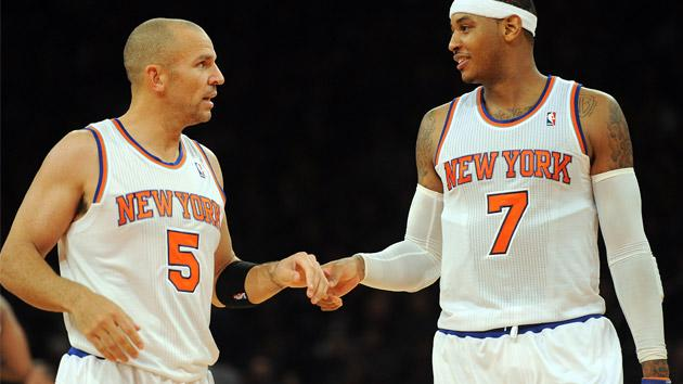 Jason Kidd and Carmelo Anthony