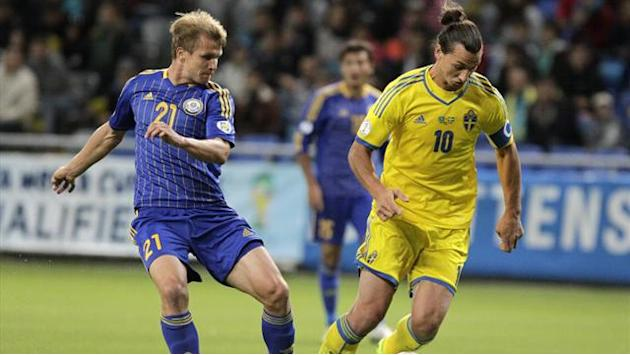 World Cup - Early Ibrahimovic goal carries Sweden to win