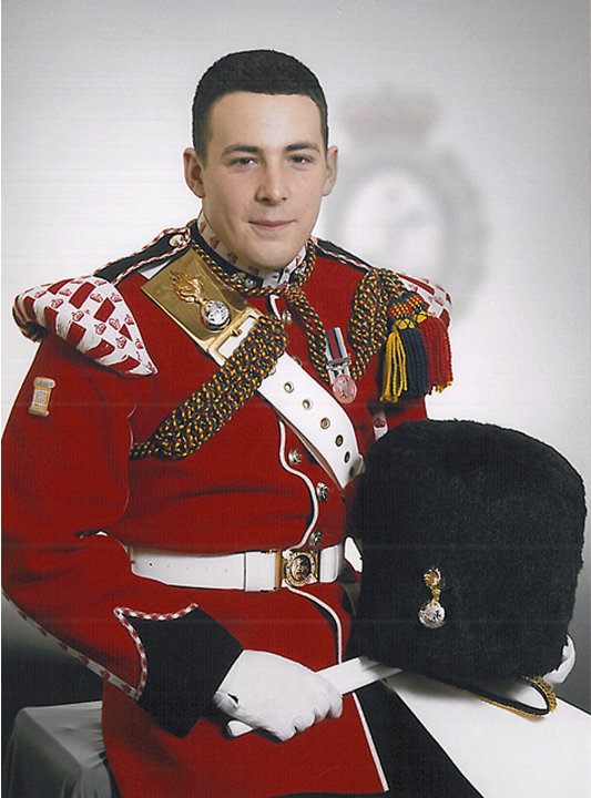 In this undated image released Thursday May 23, 2013, by the British Ministry of Defence, showing Lee Rigby known as 'Riggers' to his friends, who is identified by the MOD as the serving member of the