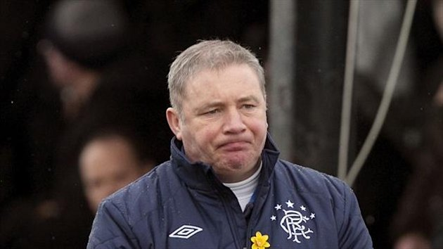 Ally McCoist has hit back at Charles Green