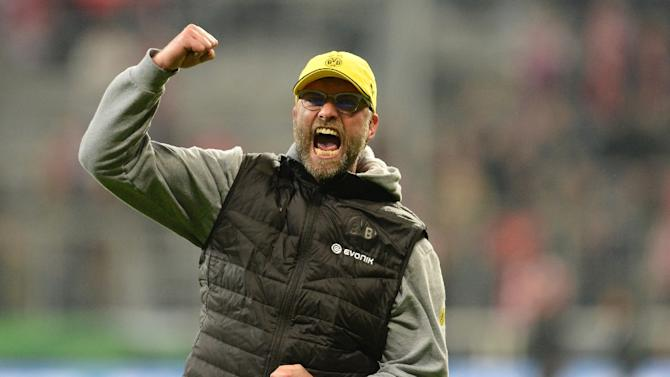 Jurgen Klopp led Dortmund to two Bundesliga titles and a Champions League final