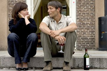 Sidse Babett Knudsen and Mads Mikkelsen in IFC Films' After the Wedding