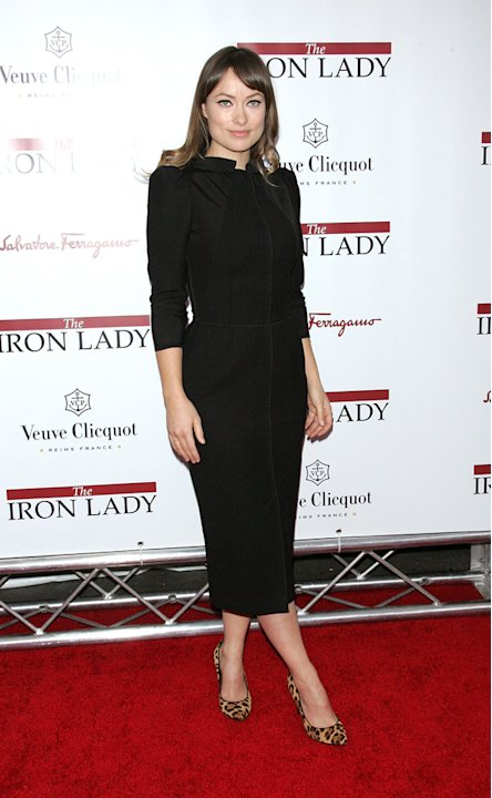 The Iron Lady NY Premiere 2011 Olivia Wilde