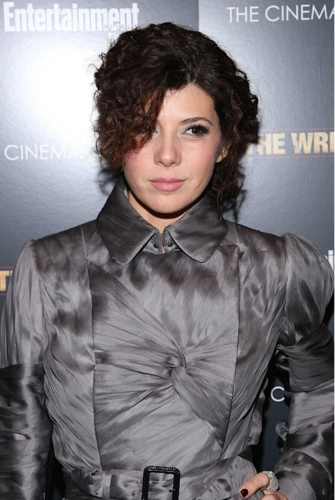 The Wrestler NY Screening 2008 Marisa Tomei