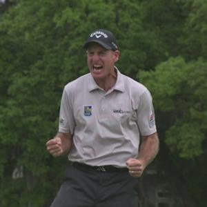 Jim Furyk wins in a playoff at RBC Heritage