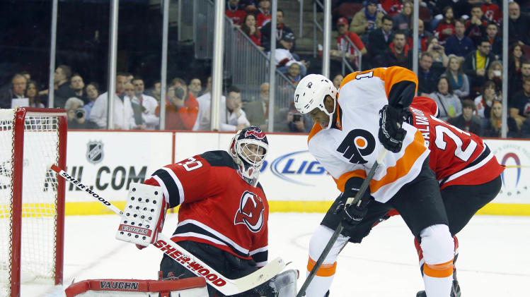 NHL: Philadelphia Flyers at New Jersey Devils