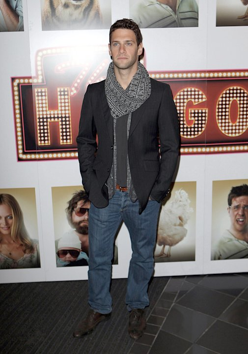 The Hangover UK Premiere 2009 Justin Bartha