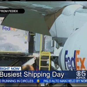 Cyber Monday Means Busy Day For Shipping Companies