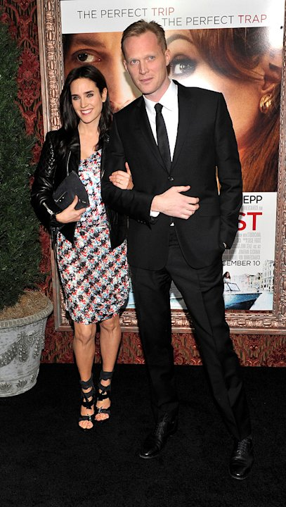 The Tourist 2010 NY Premiere Jennifer Connelly Paul Bettany