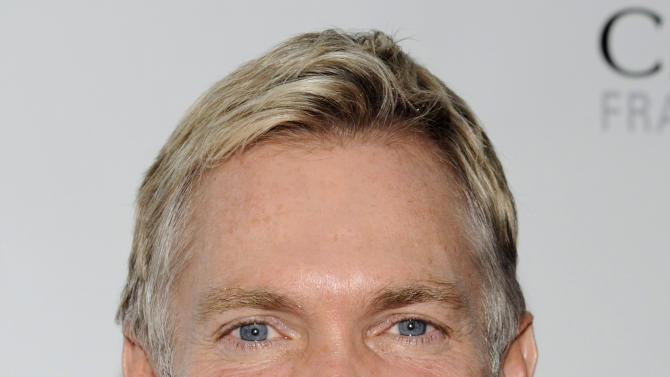 """FILE - This May 21, 2012 file photo shows weatherman Sam Champion from """"Good Morning America"""" attending the FiFi Fragrance Awards at Alice Tully Hall in New York. ABC News says Champion and his boyfriend, Rubem Robierb, are engaged to be married later this year. Champion tweeted Friday that he's """"never been happier"""" to share a bit of personal news. Champion and Robierb met through mutual friends in Miami, where Robierb lives, according to ABC. Born in Brazil, Robierb is a fine-arts photographer who shows his work in Miami, Atlanta, Santa Monica and New York. (AP Photo/Evan Agostini, file)"""