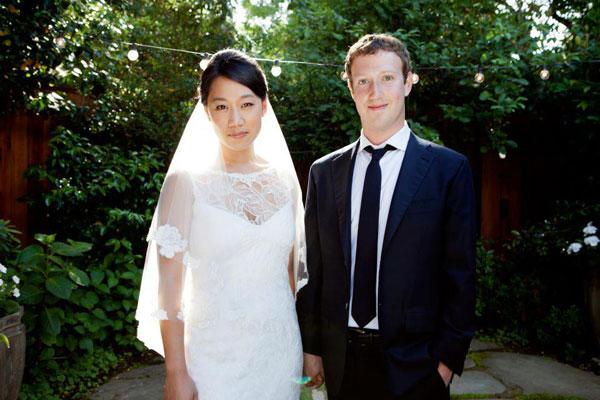 8. Mark Zuckerberg and Priscilla Chan