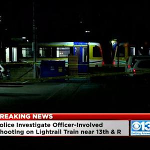 Officer Shoots Man On Light Rail Train