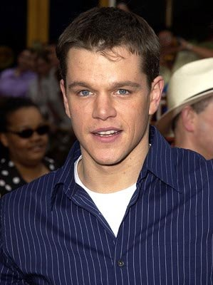 Premiere: Matt Damon at the LA premiere of The Bourne Identity - 6/6/2002