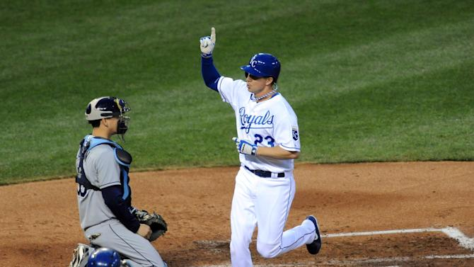 MLB: Tampa Bay Rays at Kansas City Royals
