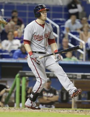 Nationals' McLouth (shoulder) out for season