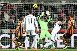 Swansea City 1-1 Hull City: Controversial Chico goal denies Tigers