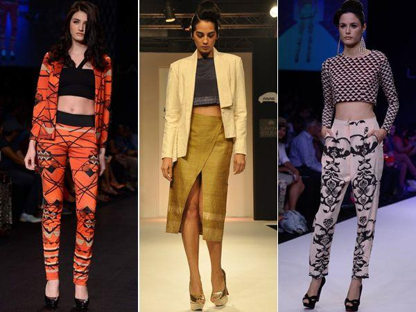 LFW Winter/Festive 2013: Crop 'em Top