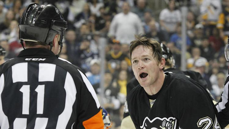NHL: Stanley Cup Playoffs-New York Islanders at Pittsburgh Penguins