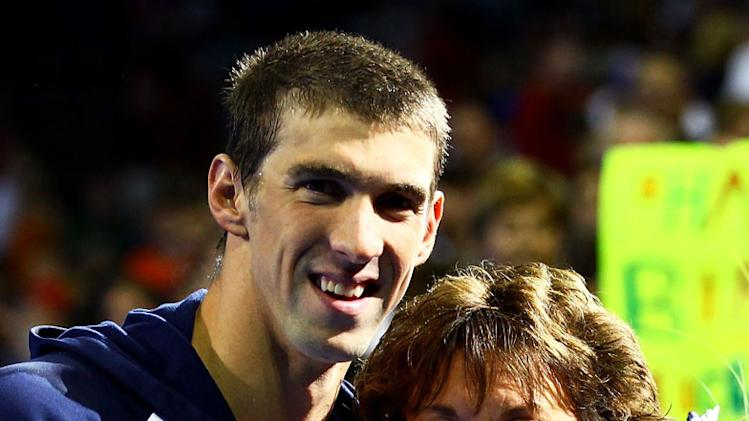 Michael Phelps and mom Debbie