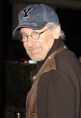 Steven Spielberg at the Los Angeles premeire of DreamWorks Pictures' Flags of Our Fathers
