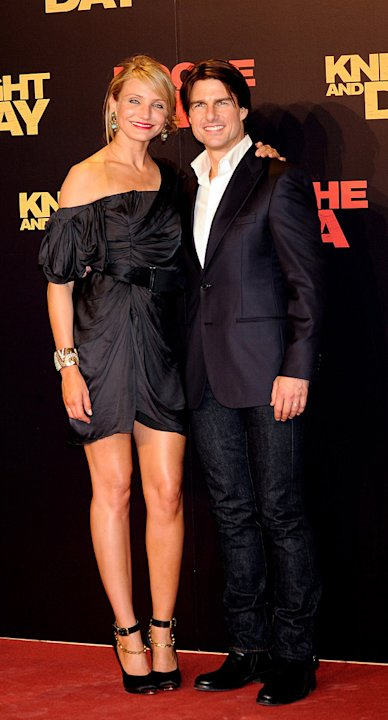 Knight and Day Spanish Premiere 2010 Cameron Diaz Tom Cruise