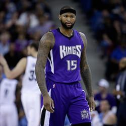 WATCH: DeMarcus Cousins Flips Out On A Folding Chair