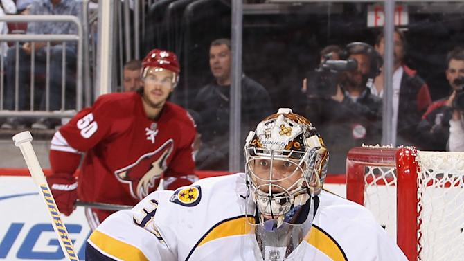 Nashville Predators v Phoenix Coyotes - Game One